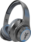 Flips Audio - XB Over-the-Ear Headphones - Charcoal Gray