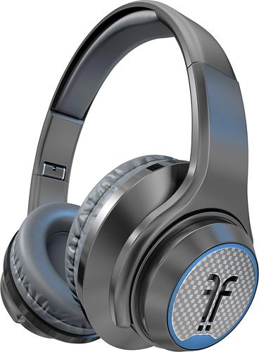 Flips Audio - XB Over-the-Ear Headphones - Charcoal