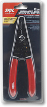"SKIL - 8"" Insulated Wire Stripper - Red"