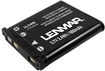 Lenmar - Lithium-ion Battery For Select Digital Cameras - Black