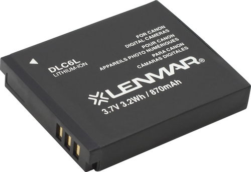 Lenmar - Lithium-Ion Battery for Select Canon Digital Cameras - Gray