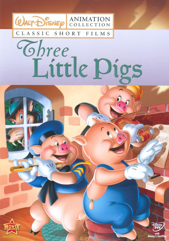 Walt Disney Animation Collection: Classic Short Films, Vol. 2 - The Three Little Pigs (dvd) 9348869