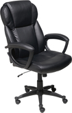 True Innovations - Puresoft Polyurethane Office Chair - Black