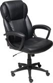 True Innovations - Puresoft Polyurethane Office Chair - Black