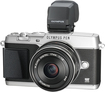 Olympus - PEN E-P5 Mirrorless Camera with 17mm Lens - Silver