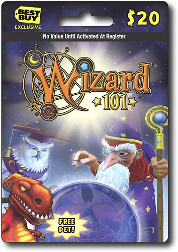 KingsIsle - Wizard 101 $20 Game Card - Multi