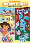 Dora The Explorer: Musical School Days/blue's Clues: Blue's Big Musical Movie [2 Discs] (dvd) 9359058