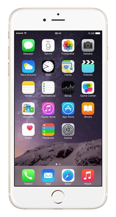 Apple - iPhone® 6 Plus 128GB (Unlocked) - Gold