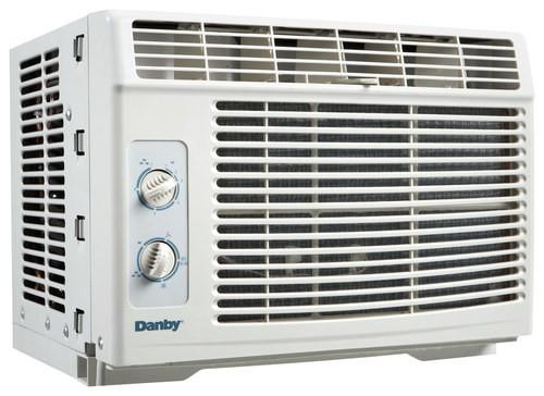 Danby - 5,000 BTU Window Air Conditioner - Gray