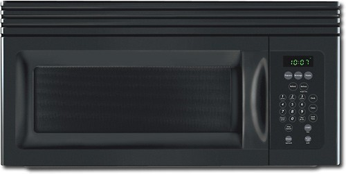 Frigidaire - 1.5 Cu. Ft. Over-the-Range Microwave - Black