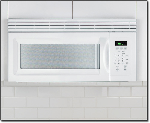 Frigidaire - 1.5 Cu. Ft. Over-the-Range Microwave - White