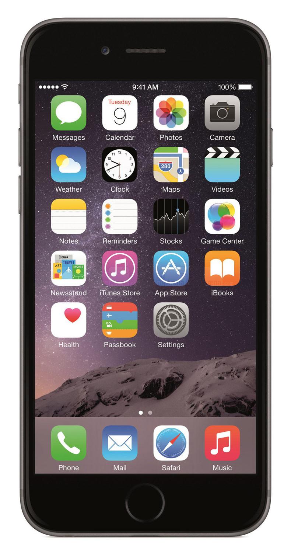 Apple® - iPhone® 6 16GB (Unlocked) - Gray