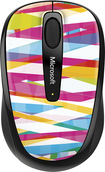 Microsoft - Wireless Mobile Mouse 3500 Limited Edition - Bandage Stripes