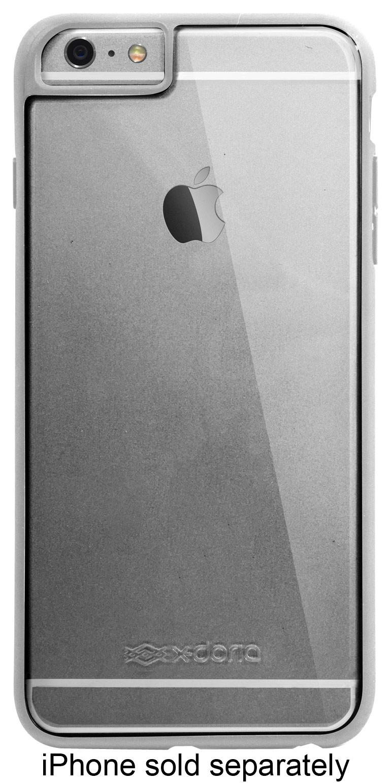 X-Doria - Scene Case for Apple® iPhone® 6 Plus - Light Gray