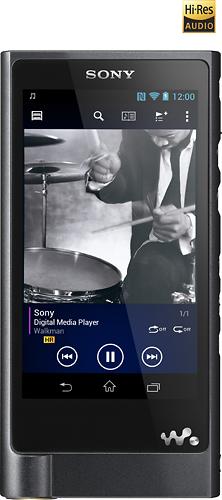 Sony - Hi-Res Walkman 128GB* Video MP3 Player - Black