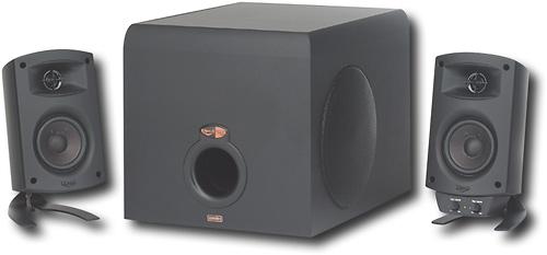 Klipsch - ProMedia 2.1 Speaker System (3-Piece) - Black