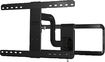 "Sanus - Full-Motion TV Wall Mount for Most 51"" - 70"" Flat-Panel TVs - Black"