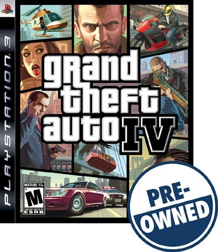 Grand Theft Auto IV - PRE-Owned - PlayStation 3