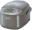 Zojirushi - Rice Cooker and Warmer - Stainless-Steel