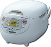 Zojirushi - Neuro Fuzzy Rice Cooker and Warmer - Stainless-Steel