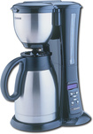 Zojirushi - Fresh Brew 10-Cup Coffeemaker - Black/Stainless-Steel
