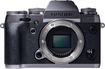 Fujifilm - X-t1 Mirrorless Camera (body Only) - Graphite Silver