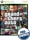 Grand Theft Auto IV — PRE-OWNED - Xbox 360