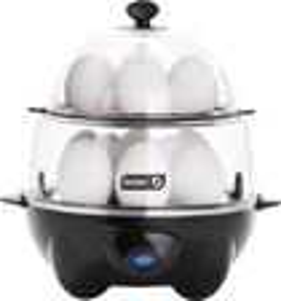 Dash - Egg Cooker Deluxe - Black