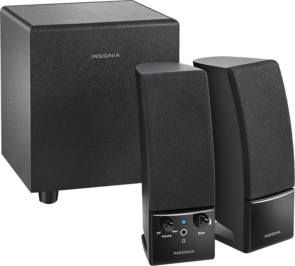 Insignia™ - 2.1 Speaker System (3-Piece) - Black