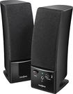 Insignia™ - 2.0 Stereo Computer Speaker System (2-Piece) - Black