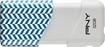 PNY - Compact Attaché 32GB USB 2.0 Flash Drive - Blue/White