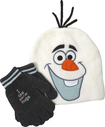 Concept One - Disney Frozen Olaf Beanie Hat with Gloves - White