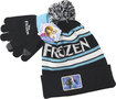 Concept One - Disney Frozen Stocking Cap with Gloves - Black/Blue/White