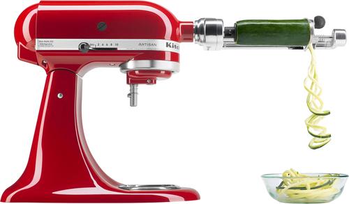 kitchenaid ksm1apc spiralizer mixer attachment metal larger front - Kitchenaid Mixer Best Price