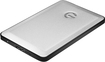 G-Technology - G-DRIVE slim 500GB External USB 3.0 Portable Hard Drive - Silver