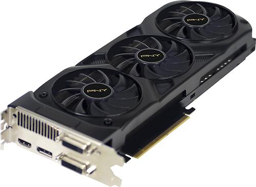 PNY - Enthusiast Edition NVIDIA GeForce GTX 770 2GB GDDR5 PCI Express 3.0 Graphics Card - Black