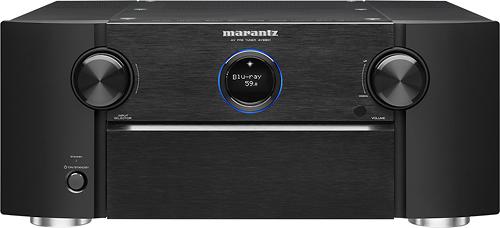 Marantz - 11.2-Ch. Network-Ready 4K Ultra HD and 3D Pass-Through Preamplifier - Black