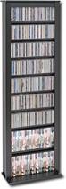 Prepac - Single Width Multimedia Tower - Black