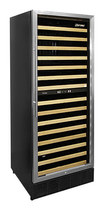 Vinotemp - 160-Bottle Wine Cellar - Black