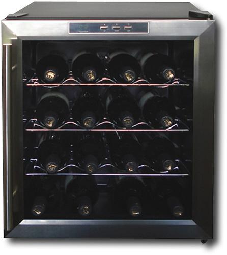Vinotemp - 16-Bottle Wine Cellar - Black