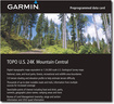 Garmin - TOPO U.S. 24K - Mountain Central Digital Map - Multi