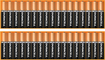 Duracell - AAA Batteries (34-Pack) - Black