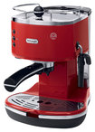 DeLonghi - Icona Pump-Driven Espresso Maker - Red