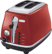 DeLonghi - 2-Slice Toaster - Red