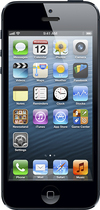 Apple® - iPhone 5 with 16GB Memory Mobile Phone - Pre-Owned - Black/Slate