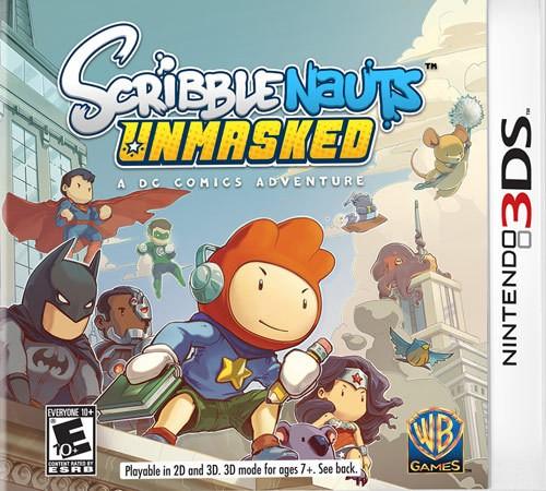 3DS-SCRIBBLENAUTS UNMASKED:...
