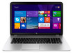 "HP - ENVY 17.3"" Touch-Screen Laptop - Intel i7 - 12GB Memory - 1TB+8GB Hybrid Hard Drive - Natural Silver"