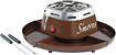 Nostalgia Electrics - Electric S'mores Maker - Brown