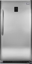 Frigidaire - Gallery 20.5 Cu. Ft. Frost-Free 2-in-1 Upright Freezer or Refrigerator - Stainless-Steel