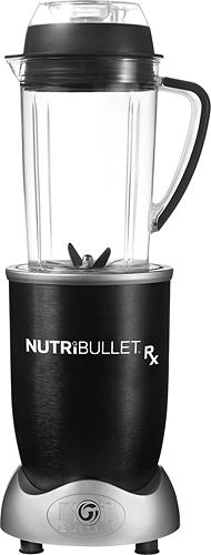 NutriBullet - Rx 45-Oz. Blender - Black/Silver